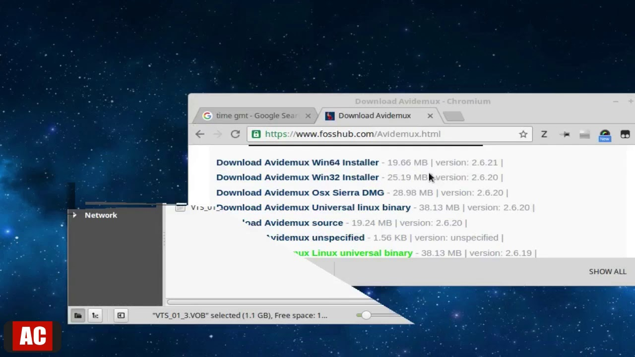 avidemux free download fosshub