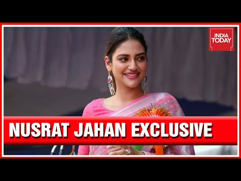 From Actress To Neta, TMC MP From Basirhat Nusrat Jahan Speaks About Her Vision In Politics