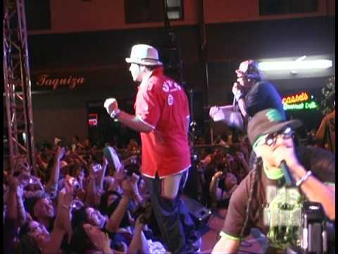 Baby Bash  performs cyclone and im back live!!