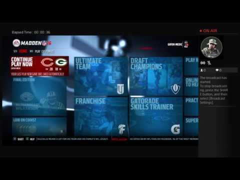 GATOR-MEDIC's Live PS4 Broadcast