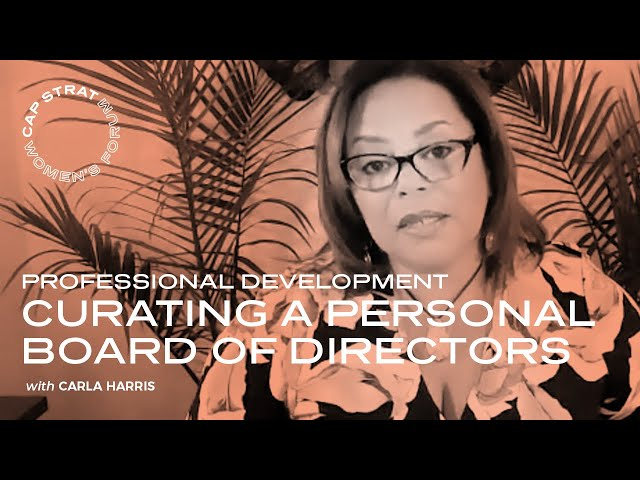 Curating a Personal Board of Directors (PBOD)