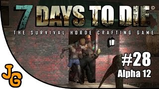 7 Days to Die - Armee der Finsternis! Alpha 12 - Let's Play #28 - Gameplay - Deutsch - 7DTD - 7d2d thumbnail