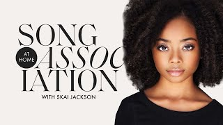 Skai Jackson Sings Kevin Gates, Lil Nas X, and Toni Braxton in a Game of Song Association | ELLE