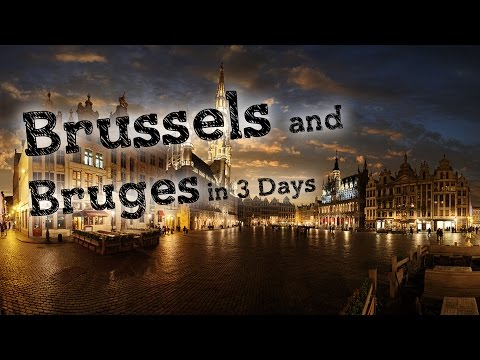 Trip to Brussels and Bruges in 3 Days | Belgium DAY 1 |