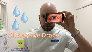 Eye Drops for Allergies