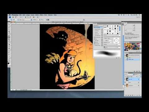 Special Effects for Digital Coloring with Brian Miller