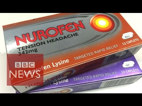 Nurofen ban explained - in 60 seconds - BBC News