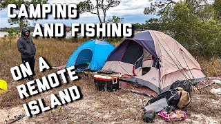 Kayak Camping on a Remote Island in Florida