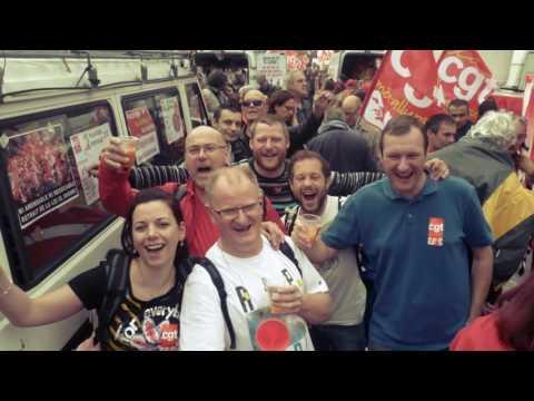 Manifestation du 14 juin 2016 CGT Messier Bugatti Dowty