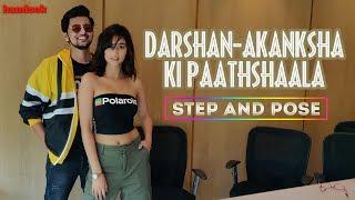 Darshan Raval Akanksha Sharma Ki Paathshaala: Step & Pose | bandook Exclusive