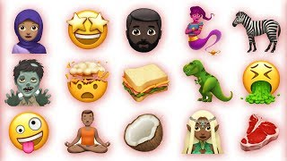 de geheime Apple emojis gevonden..