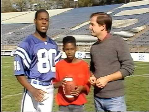 1991 - Big Brothers Spot with Colts WR Bill Brooks & TV News Anchor Ken Owen