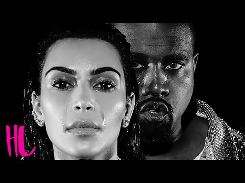 Kim Kardashian & Kanye West Cry In 'Wolves' Music Video
