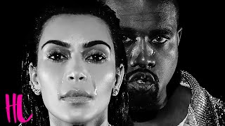 Kim kardashian & kanye west cry in 'wolves' music video while wearing their met gala 2016 balmain outfits. starring emily longerettaproduced by @ginoorlandin...