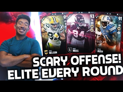 ELITES EVERY ROUND! RANDY MOSS, JORDY, & MUCH MORE! MADDEN 17 DRAFT CHAMPIONS!
