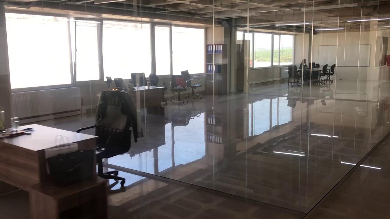 Ofis bölme sistemleri | Cam bölme duvar | Demontable Ofis bölme sistemleri | Ahşap kapı | Cam Kapı |