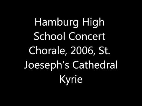 Hamburg High School Concert Chorale-Kyrie