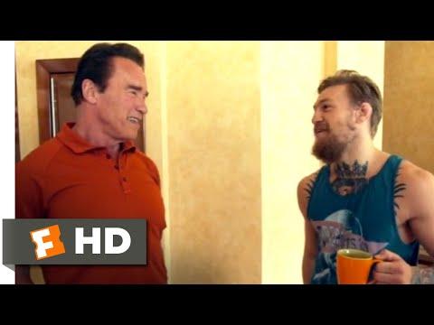 Conor McGregor: Notorious (2017) - Meeting Arnold Schwarzenegger Scene (2/10)   Movieclips