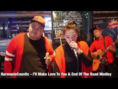 Boyz II Men - I'll Make Love To You & End Of The Road Medley ( Live Cover by Maximize Band)