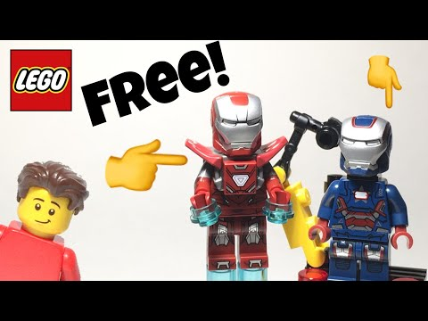 LEGO Silver Centurion And Iron Patriot Rare Polybags Review! #1