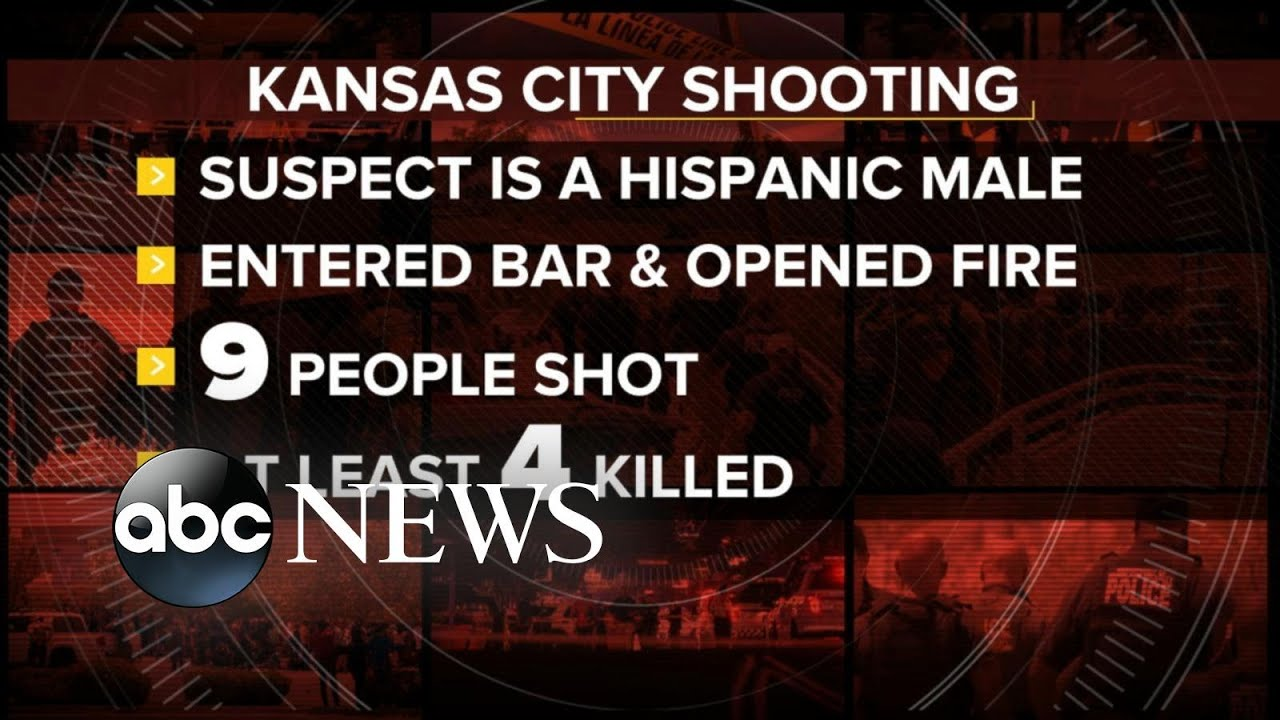 Nine shot, four dead in shooting at Kansas City, Kansas, bar: police