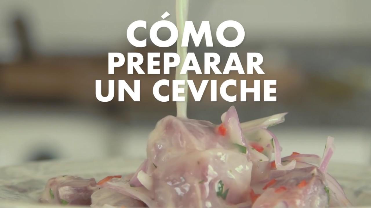 C mo preparar un ceviche peruano viaja y prueba youtube for Como cocinar un bogavante