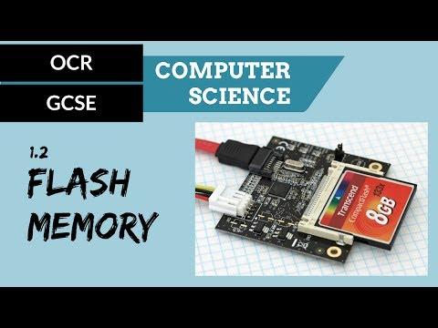 GCSE 1.2 Flash memory