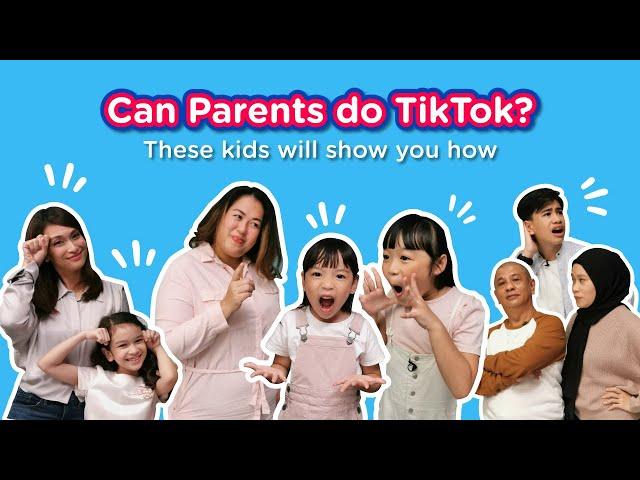 Kids Teach Parents TikTok Dances!!