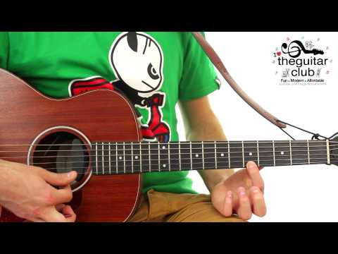 ► FUN EASY KIDS GUITAR LESSON * Happy Birthday *
