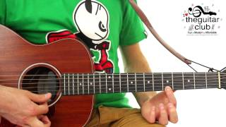 ► fun easy kids guitar lesson happy birthday