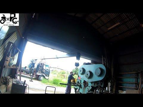 鉄工所の機械の旅立ち