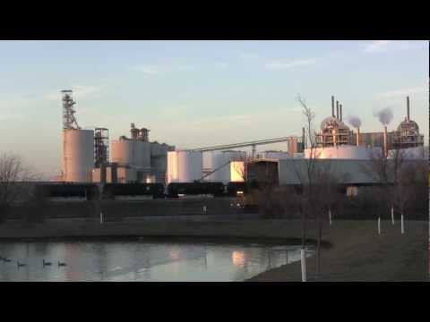 CRANDIC Southbound Ethanol Train From ADM Ethanol Plant to the Dows Yards