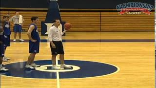 Open Practice: Shooting Drills with Mike Krzyzewski