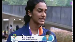 India's PV Sindhu Settled For  Silver Medal at Asian Games 2018