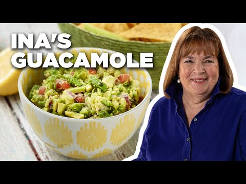 Ina Garten's trick for making guacamole might actually be dangerous