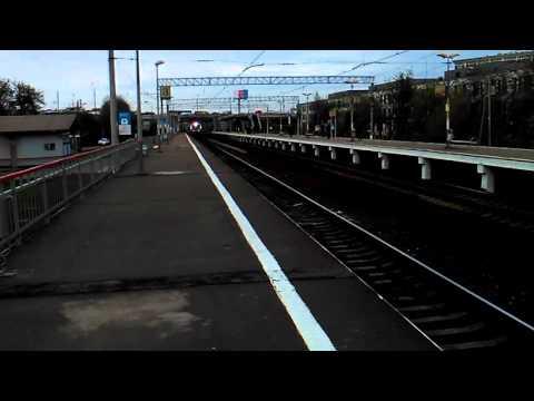 Скорый поезд Москва-саратов-москва √75 едет от Павелецкого вокзала