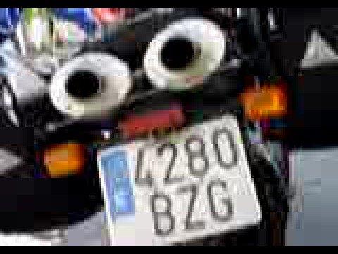 car number anti radar sticker funnycat tv. Black Bedroom Furniture Sets. Home Design Ideas
