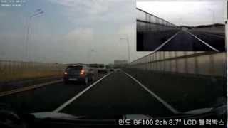 만도BF100 2ch 블랙박스 국도 주행영상