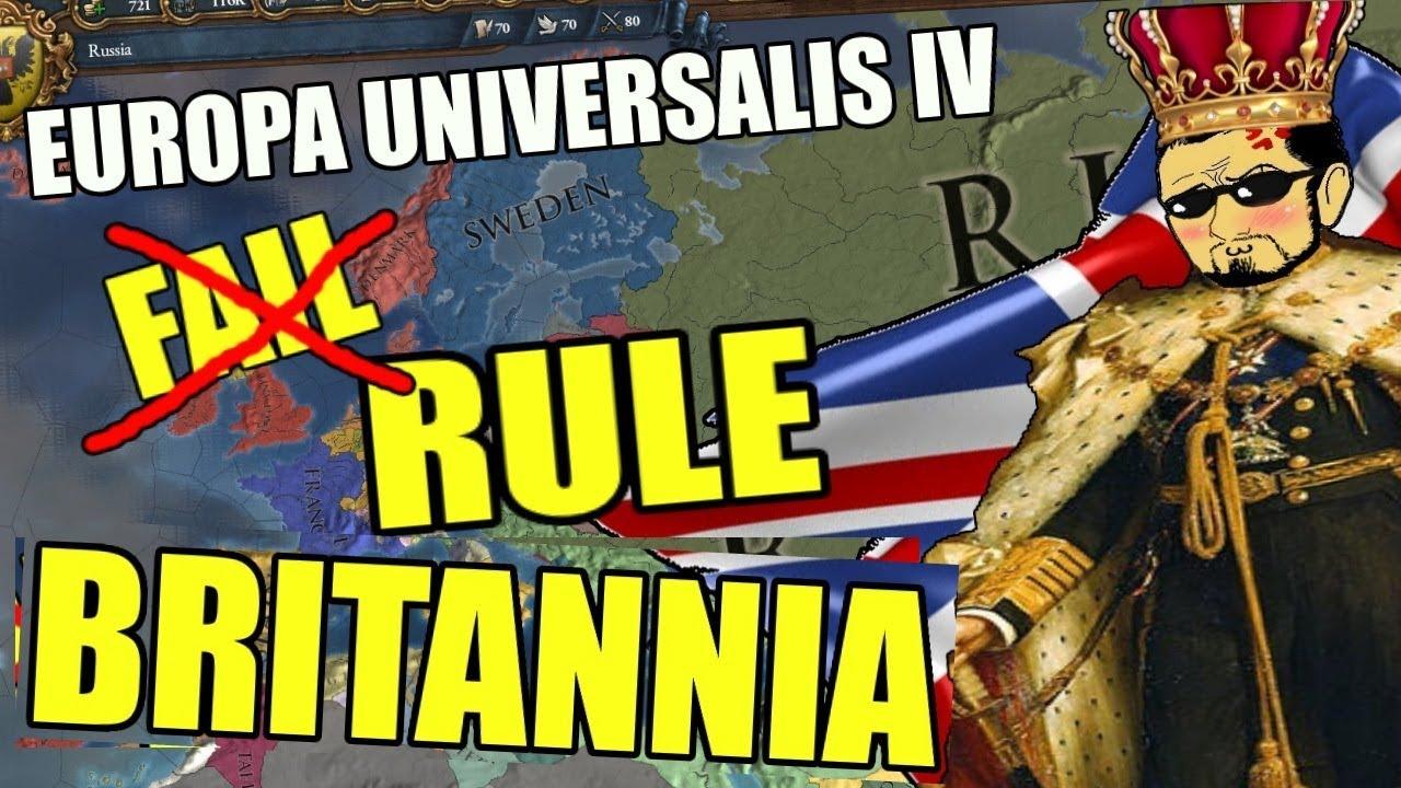 Europa universalis iv rule britannia gameplay | Europa