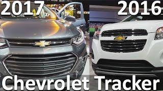 Chevrolet Tracker 2017 vs Chevrolet Tracker 2016
