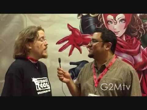 Geek To Me TV: Elliott talks to Rich Johnston @ Sa...