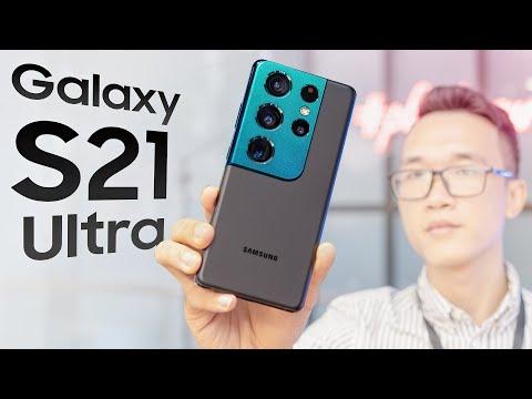 Đánh giá nhanh Samsung Galaxy S21 Ultra: đỉnh cao camera đây rồi!