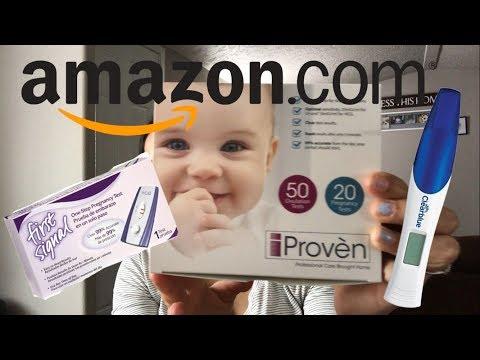 Amazon Pregnancy & Ovulation Test?!   TTC BABY #3