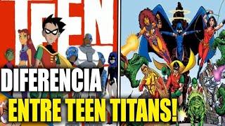 Baixar Teen Titans - del comic a la T.V diferencias y curiosidades