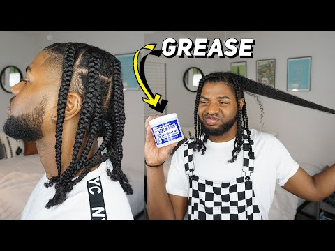I USED HAIR GREASE FOR A MONTH...