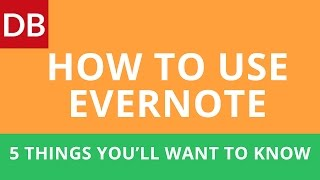 How to Use Evernote Effectively: Top 5 Things You'll Want to Know