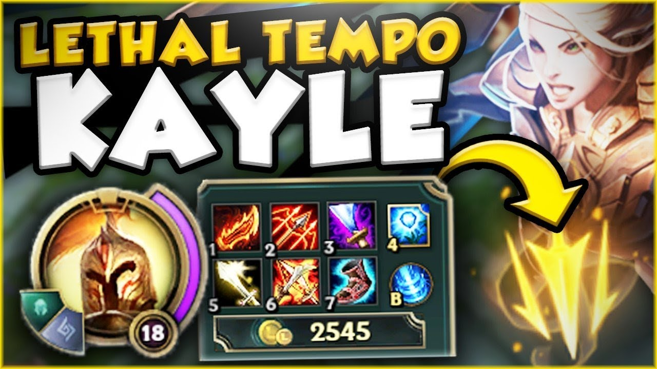 Unlimited Attack Speed Lethal Tempo Kayle Is So Dumb New Kayle