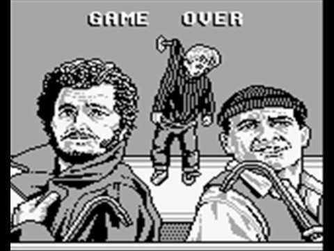 Home Alone (Gameboy) - Game Over and a bonus clip - YouTube