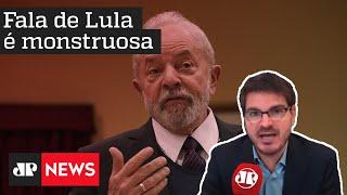 Constantino: Fala de Lula sobre o novo coronavírus é monstruosa