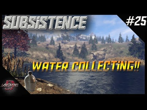 Subsistence   NEW UPDATE, WATER COLLECTING AND SWIMMING !!   Ep 25   Let's Play Gameplay